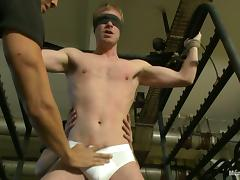 Marco Schwarz gets whipped and toyed by two guys porn tube video