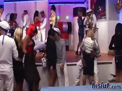 Sharka had a kinky party and she sucked a cock