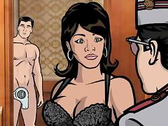 Cartoon, Babe, Blowjob, Cartoon, Cuckold, Hotel