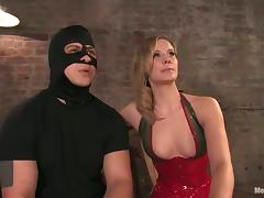 Crazy Cock Torture and Butt Spanking in Femdom Video