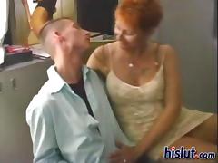 This old housewife was horny for her neighbor