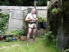 stockings garden cum play