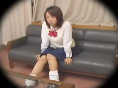 Japanese hardcore dicking caught on a hidden camera