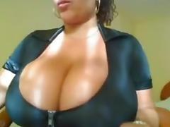 Webcam, Big Tits, Friend, Latina, Strip, Webcam