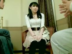 Perfect Japanese slut dicked well in Japanese hardcore video porn tube video