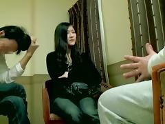 Loud Japanese slut moans during Asian hardcore banging