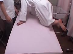 Erotic voyeur massage video with a great Japanese girl