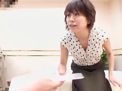Skinny Japanese fingered hard in spy cam massage video