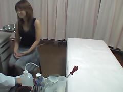 Hidden camera medical fuck in the kinky doctor office