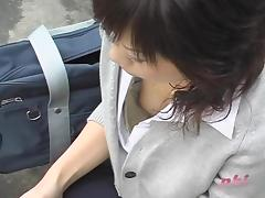 Stylish Asian sexy chicks in the middle of really fantastic downblouse video
