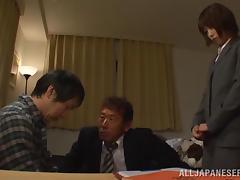 Deepthroat Fucking and Hardcore Sex with Japanese Girl Saki Ninomiya tube porn video