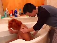 Bath, Bath, Bathing, Bathroom, BBW, Granny