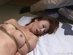 Reiko Sawamura gets her snatch toyed by a few horny dudes tube porn video