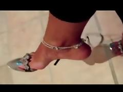 Feet and shoes tube porn video