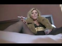 Hot Mature Cougar Smoking JOI tube porn video
