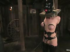 Cherry Torn gets tortured and fucked hard by Sandra Romain