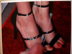 Victoria Justice Feet Cum