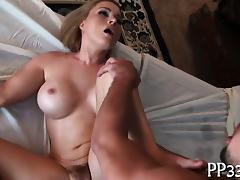 Alluring babe gets wild fucking
