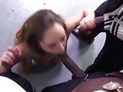 Gagging on long hard black dicks tube porn video