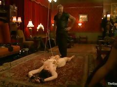 A few hot sluts enjoy being tormented in a kinky BDSM clip