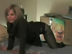 Perfect sexy blonde amateur homemade