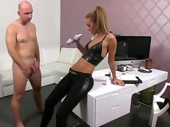 Casting, Audition, Big Cock, Big Tits, Blowjob, Boobs