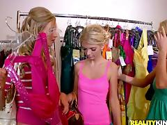 Blonde, Babe, Blonde, Fingering, Lesbian, Reality