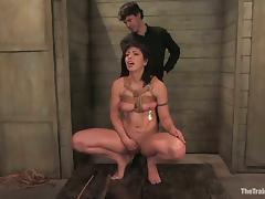 Satine Phoenix enjoys brutal banging after getting tied up porn tube video