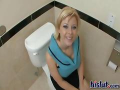 Bathroom, Bath, Bathing, Bathroom, Big Tits, Blonde