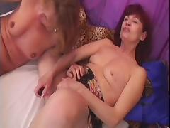 Horny Lesbo Grannies Wanda And Koko Enjoy Toy Fuck tube porn video
