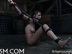 Wild torturing for hot serf