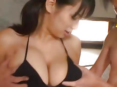 Big Tits, Asian, Babe, Big Tits, Boobs, Threesome