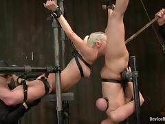 Bondage, BDSM, Blonde, Bondage, Fetish, Lick