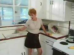 Red Bushed Granny Needs Your Sperm! tube porn video