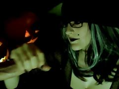 Halloween, Amateur, Handjob, Halloween