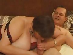 French BBW in a Kinky Threesome porn tube video