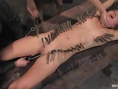 Nazi officer strapon fucks that lusty military sex slave tube porn video