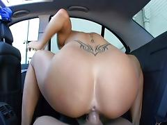 Super hot cock ride with Savannah Stern