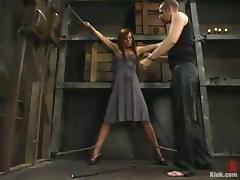 Holly Wellin Moaning to a Bondage Rough Hardcore Fucking tube porn video