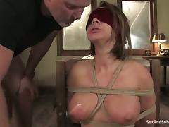 Blindfolded, Babe, Banging, BDSM, Blindfolded, Bondage