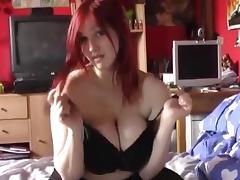 redhead emo busty girl by bradpiet