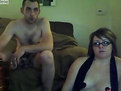 Husband, Amateur, Big Tits, Blowjob, Husband, Webcam