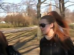 Yulia's first fucking in a public restroom
