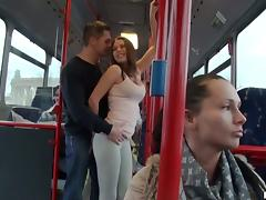 Bus, Angry, Blowjob, Bus, Cum in Mouth, Cumshot