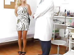 Bizarre, Bizarre, Blonde, Exam, Gyno, Mature