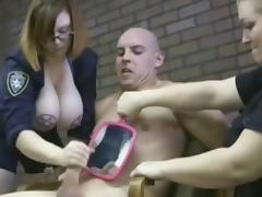 Cute redhead milking some cows. tube porn video