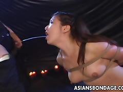 All, Asian, Brunette, Slut, Small Tits, Swallow