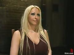 Bound, BDSM, Big Tits, Blonde, Bondage, Boobs