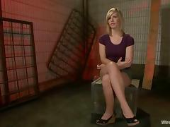 Tara Lynn Foxx enjoys having electric wires in her pussy tube porn video