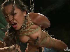 Adiranna Luna an exotic angel is being fucked in face